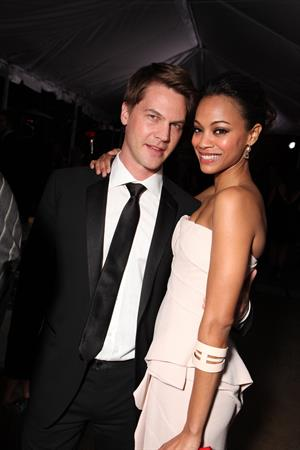 Zoe Saldana at 20th Century Fo- FoSearchlight Pictures Oscar Party (March 7, 2010)