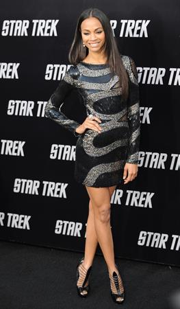 Zoe Saldana -  Star Trek  Los Angeles Premiere - Apr. 30, 2009