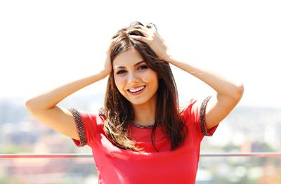 Victoria Justice Intercontinental Hotel Portraits in Sydney 11/11/12