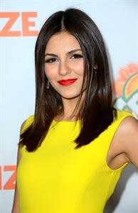 Victoria Justice at the  Fun Size  premiere in LA 10/25/12