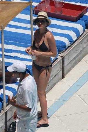 Katy Perry in a bikini in Miami July 26, 2012