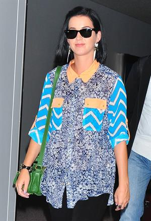 Katy Perry at Narita International airport in Japan 9/24/12