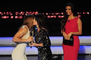 Eva Longoria attends the 2013 Laureus World Sports Awards Rio de Janeiro 11.03.13