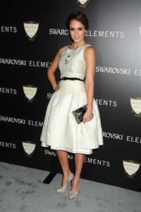 Jessica Alba Swarovski Elements holiday lighting ceremony November 21, 2011
