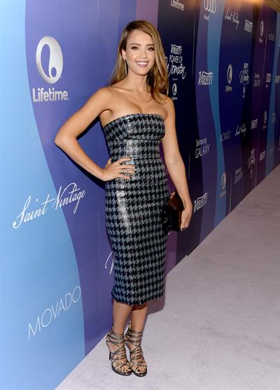Jessica Alba Variety's 5th Annual Power of Women event in Beverly Hills 10/4/13