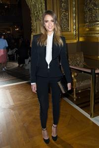 Jessica Alba Stella McCartney F/W 2013 Fashion Show in Paris 04.03.13