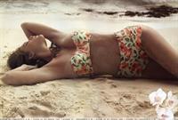 Kim Cloutier in a bikini