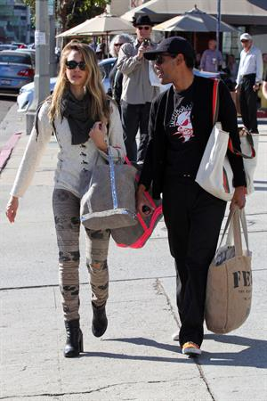 Jessica Alba - candids in West Hollywood 11/9/12