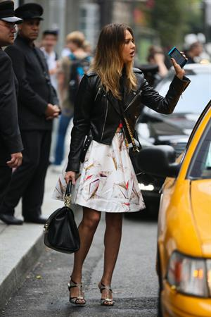 Jessica Alba in New York - October 3, 2012