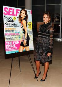 Jessica Alba - Self Magazine Women Doing Good Awards in New York - September 12,2012