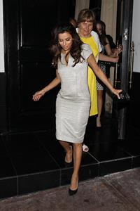 Eva Longoria Leaving Beso Restaurant after having dinner in Los Angeles (May 22, 2013)