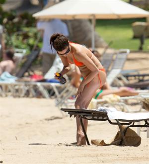 Eva Longoria at the beach in Puerto Rico - April 6, 2013