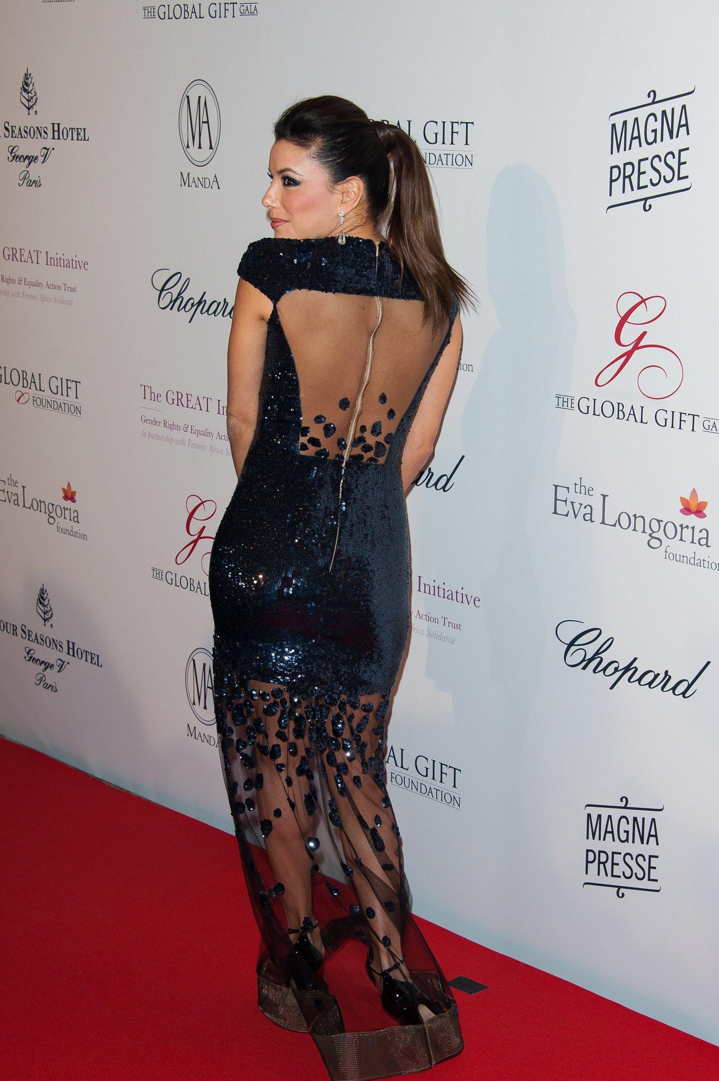 Eva Longoria 2013 Global Gift Gala in Paris 5/13/13