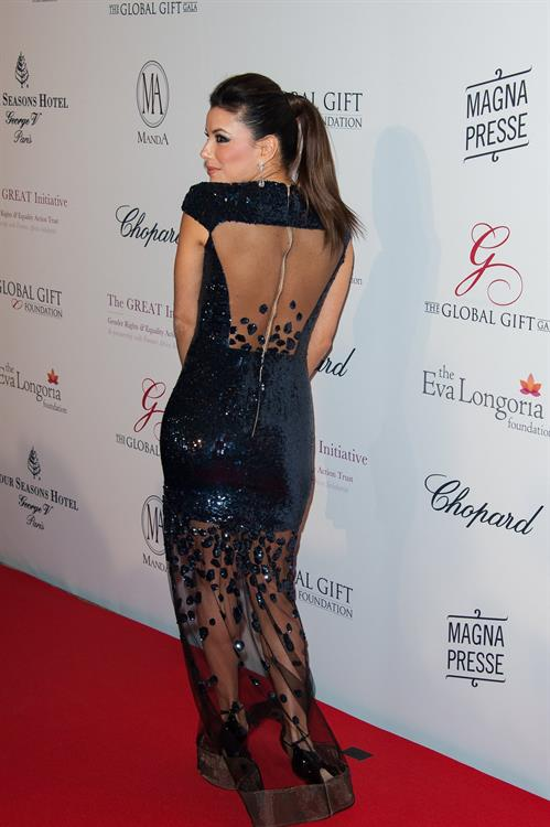 Eva Longoria 2013 Global Gift Gala in Paris 5/13/13