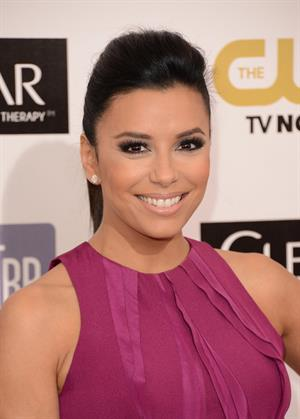 Eva Longoria 18th annual Critics' Choice Movie Awards 1/10/13