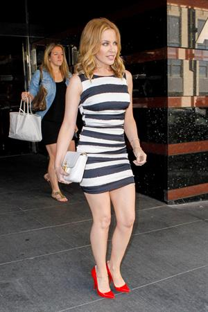 Kylie Minogue in New York June 19, 2013