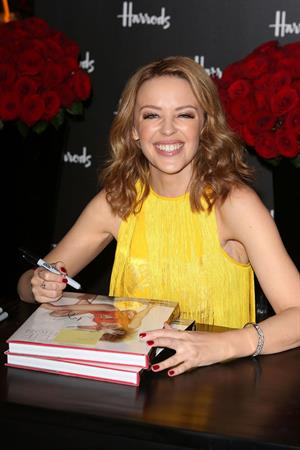 Kylie Minogue Harrods For Book Launch in London 28/11/12