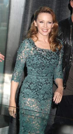 Kylie Minogue 'Holy Motors' Premiere in NYC - October 11, 2012