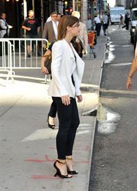 Emma Watson on Letterman - September 5, 2012