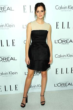 Emma Watson at Elle's Women in Hollywood Tribute at the Four Seasons Hotel in Beverly Hills - October 15 2012