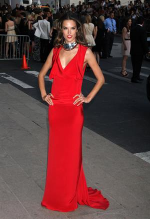 Alessandra Ambrosio at CFDA Fashion Awards at Alice Tully Hall Lincoln Center on June 6, 2011