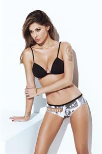Belén Rodríguez in lingerie