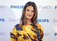 Alessandra Ambrosio Philips Satin Perfect Epilator Presentation in Madrid 05.03.12