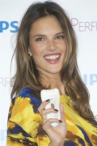 Alessandra Ambrosio Philips Satin Perfect Epilator Presentation in Madrid 05.03.12