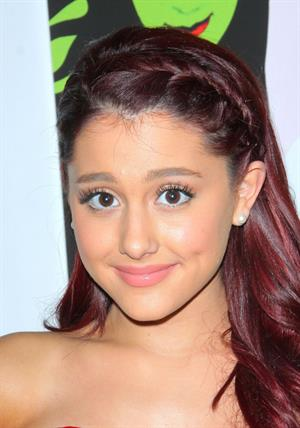 Ariana Grande opening night of Wicked at the Pantages Theatre on December 1, 2011