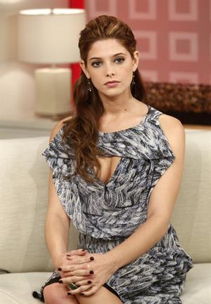 Ashley Greene on NBC's Today Show in New York on June 22, 2010