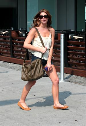 Ashley Greene out in New York City on July 7, 2010