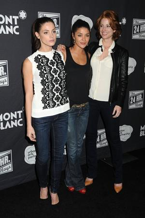 Ashley Greene the 24 hour plays los angeles a benefit for urban arts partnership 16 06 12