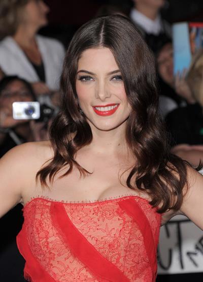 Ashley Greene Twilight Breaking Dawn premiere in Los Angeles on November 14, 2011