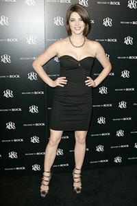 Ashley Greene at the Rock Republic store opening on Robertson in Los Angeles, California