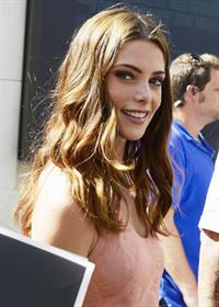 Ashley Greene  At Extra on the Grove - October 2, 2012