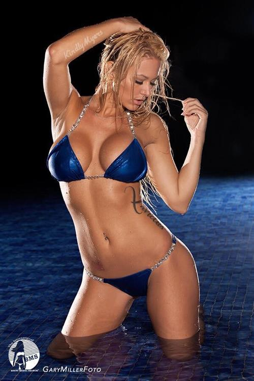 Kindly Myers in a bikini