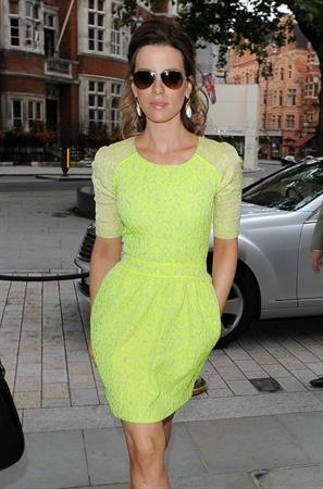 Kate Beckinsale Leaves the Corinthia Hotel in London August 16-2012