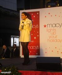 Ariana Grande Macys Lighting event in Boston November 26, 2010