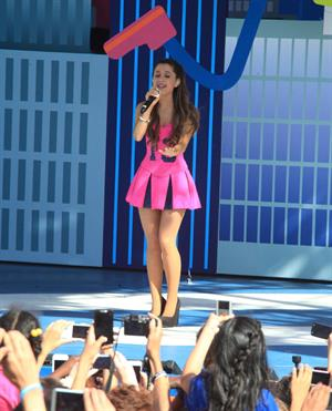 Ariana Grande - 10th Worldwide Day of Play in NY 9/21/13