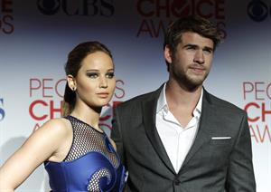 Jennifer Lawrence at the 2012 Peoples Choice Awards 11-01-2012