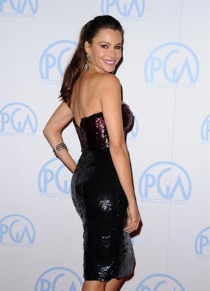 Sofia Vergara 23rd Annual Producers Guild Awards on January 21, 2012