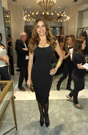 Sofia Vergara at the Monika Chiang store opening cocktail party in West Hollywood October 10, 2011