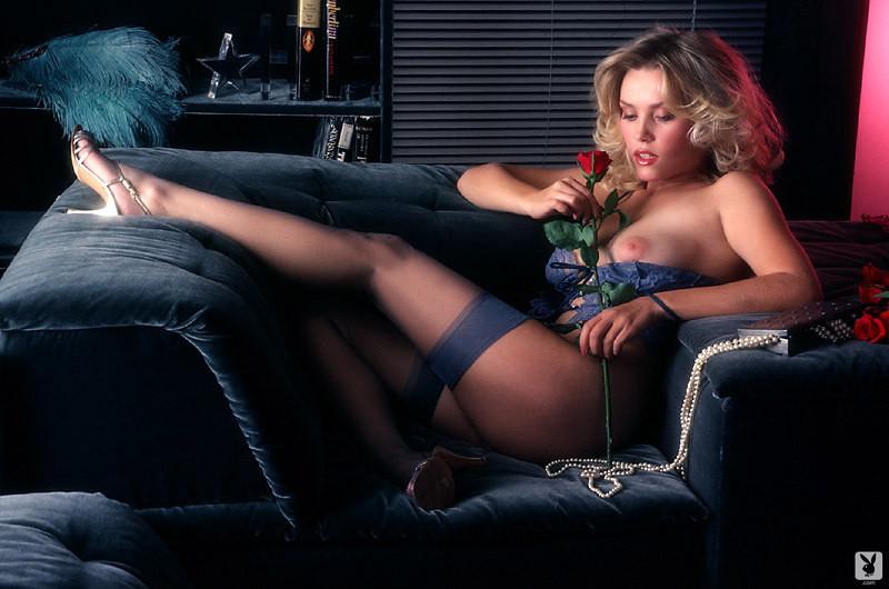 Black glamour model nude