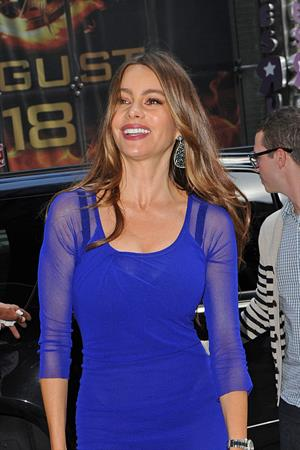 Sofia Vergara - Good Afternoon America in New York - August 28, 2012