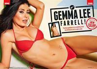 Gemma Lee Farrell in a bikini
