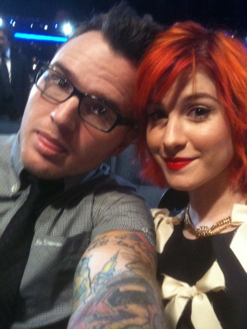 hayley williams and chad gilbert