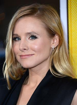 Kristen Bell - Hit and Run premiere in Los Angeles, August 14, 2012