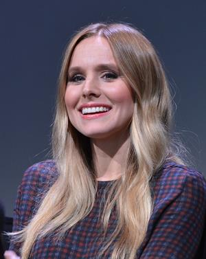 Kristen Bell - Meet the Actors of Hit and Run Presented by Apple in New York City (July 26, 2012)