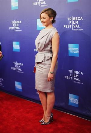 Abbie Cornish The Girl premiere during the 2012 Tribeca Flim Festival on April 20, 2012