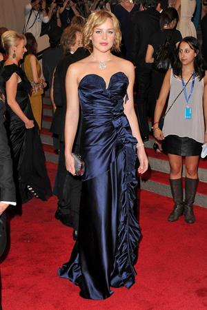 Abbie Cornish Metropolitan Museum of Arts 2010 Costume Institute Ball 2/5/2010